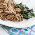 Tofu med kanel och sesamfrön